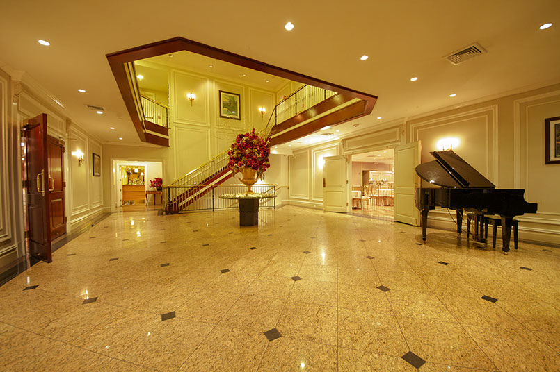 Foyer With Grand Piano